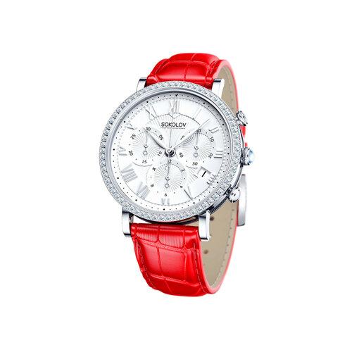 Женские серебряные часы (127.30.00.001.01.03.2) - фото