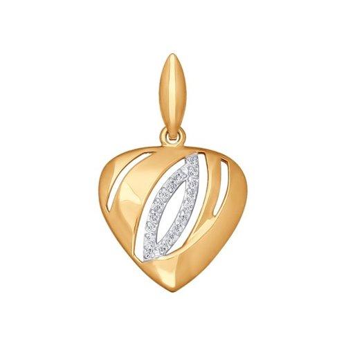 Кулон «Сердце» SOKOLOV