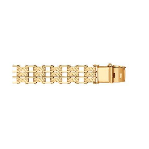 Мужской браслет с алмазной гранью