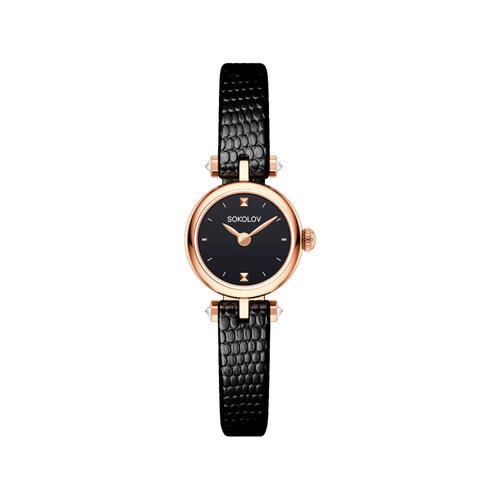 Женские золотые часы (215.01.00.000.02.01.2) - фото №2