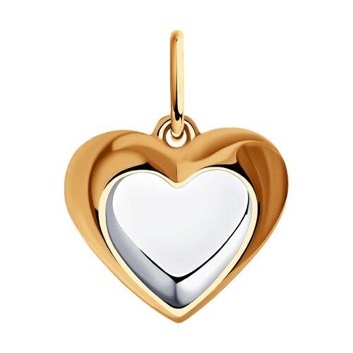 """Подвеска из золота """"Сердце"""""""