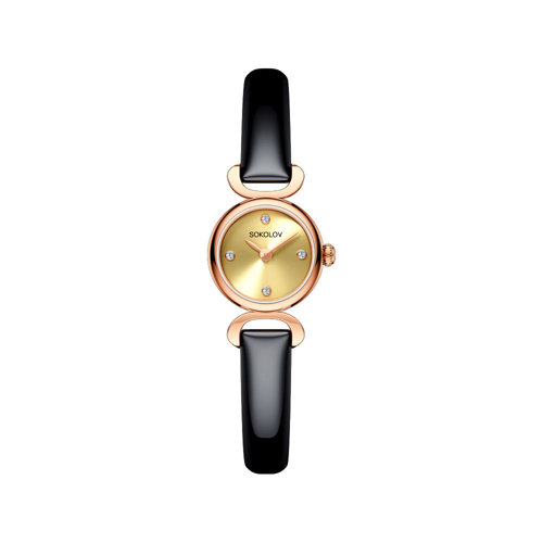 Женские золотые часы (212.01.00.000.02.05.3) - фото №2