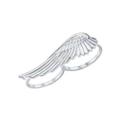 Кольцо на два пальца SOKOLOV из серебра