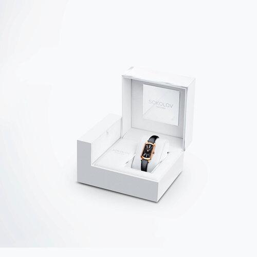 Женские золотые часы (222.01.00.001.03.01.3) - фото №4