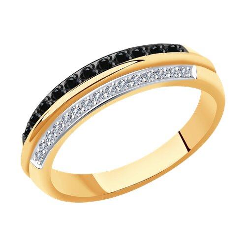 Кольцо из золота с бриллиантами 7010071 sokolov фото