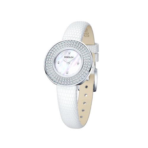 Женские серебряные часы (128.30.00.001.01.01.2) - фото