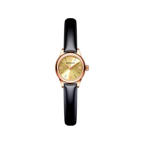 Женские золотые часы (211.01.00.000.02.05.3) - фото №2