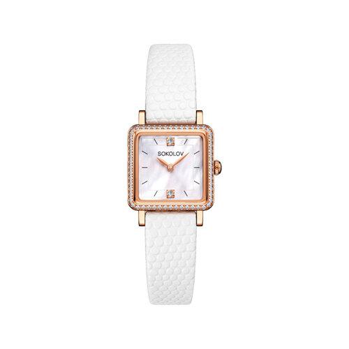 Женские золотые часы (232.01.00.100.05.02.2) - фото №2