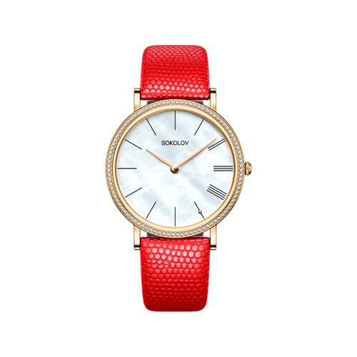 Женские золотые часы (210.02.00.001.02.04.2) - фото №2