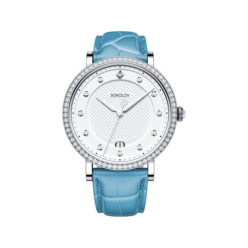 Женские серебряные часы (102.30.00.001.04.05.2) - фото №2