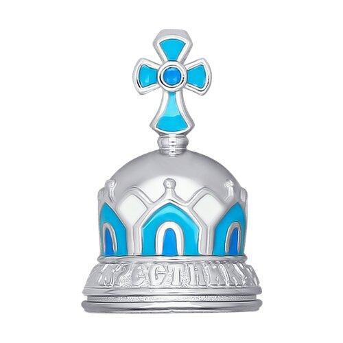 Колокольчик «Крестнику», эмаль (2304010027) - фото