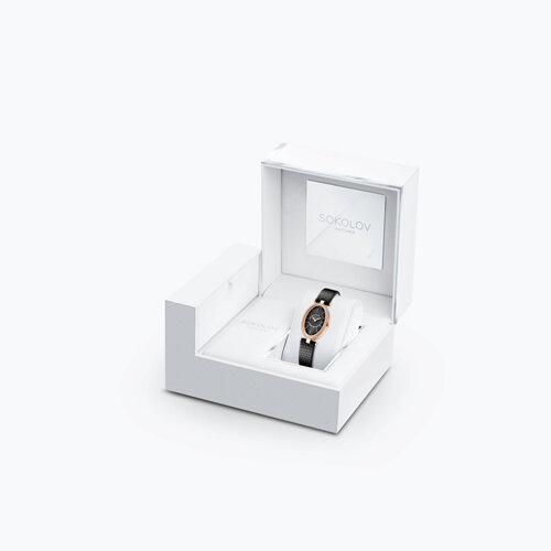 Женские золотые часы (236.01.00.001.02.01.2) - фото №4