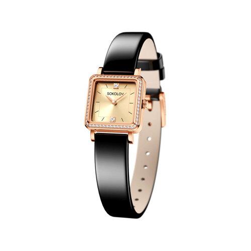 Женские золотые часы (232.01.00.100.06.04.2) - фото