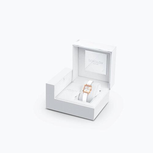Женские золотые часы (231.01.00.000.01.05.2) - фото №4