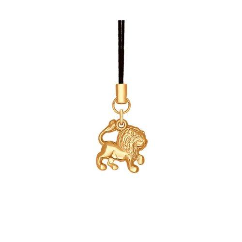 Брелок знак зодиака из золота