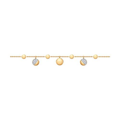 Браслет из золота (050992) - фото