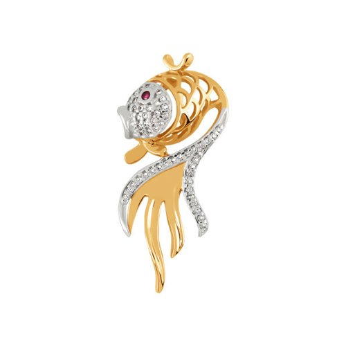 Подвеска «Золотая рыбка» SOKOLOV елена арсеньева золотая рыбка
