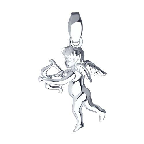 Кулон «Купидон» из серебра